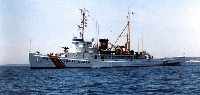 The Coast Guard cutter Tamaroa in 1990. USCG photo.