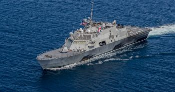 Littoral combat ship Fort Worth. U.S. Navy photo.
