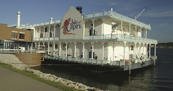 American Queen Steamboat Co. will refurbish the former casino boat Bettendorf Capri into its newest vessel, the American Duchess. Creative Commons photo by Mark Goebel.