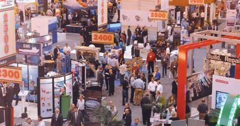 The scene at the International WorkBoat Show. File photo.
