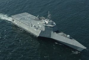 The littoral combat ship Montgomery. Austal USA photo.