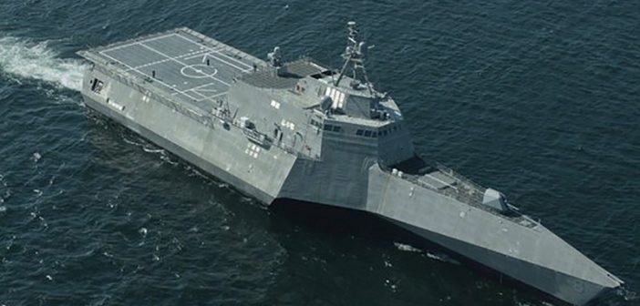 The Navy has contracted with Austal USA to build another littoral combat ship — LCS 30. Austal USA photo