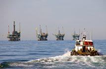 Offshore platforms. BOEM photo.