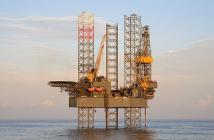 A Rowan jackup drilling rig. Rowan Companies photo