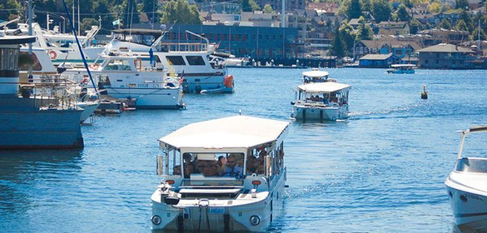 The NTSB is pushing for new weight standards for duck boats. Ride the Ducks of Seattle photo.
