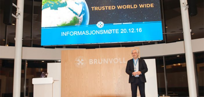 Brunvoll AS Chairman Arthur Brunvoll. Photo courtesy Brunvoll.