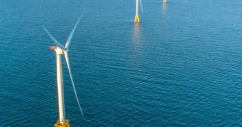 The Deepwater Wind 30 MW Block Island Wind Farm. Deepwater Wind photo.