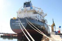 The Jones Act tanker Liberty. NASSCO photo.