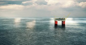 An illustration depicts BP's Mad Dog Phase 2 development in the deepwater Gulf of Mexico. BP image.