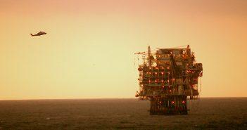 Platform Harvest off the California coast. BOEM photo.
