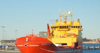 The North Sea supply vessel Viking Lady serves as a test bed for new concepts. Creative Commons photo by Skangass AS.