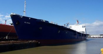 An undated photo of the El Faro courtesy TOTE Services.