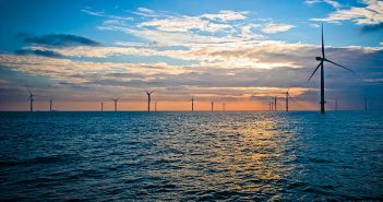 The London Array wind farm offshore England. London Array Limited photo.
