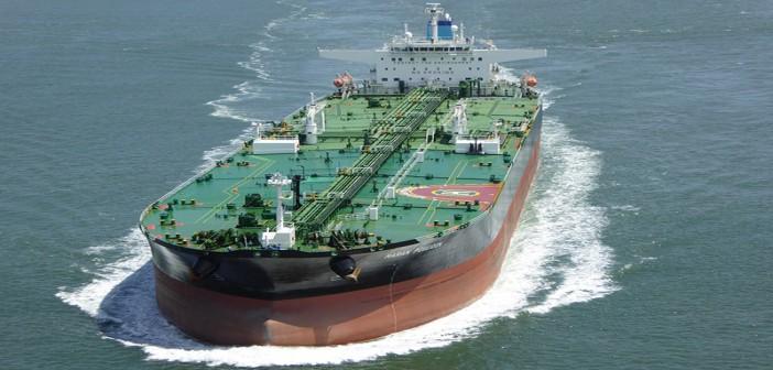 The oil tanker Maran Poseidon. Public Domain photo.
