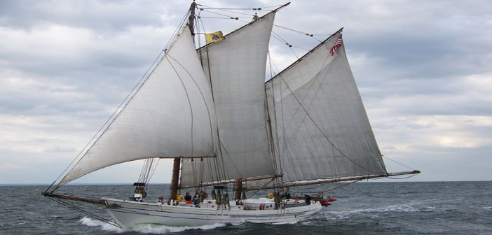 The restored oyster schooner A.J. Meerwald. Photo courtesy A.J. Meerwald official Facebook page.