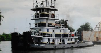 The towboat Ricky J Leboeuf. D&S Marine Service photo via NTSB.