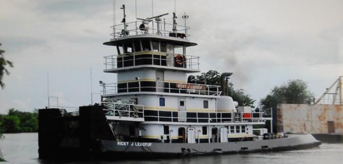 The towboat Ricky J Leboeuf. D&S Marine Service photo via NTSB.