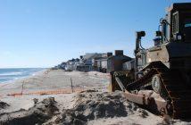 Mantoloking, N.J., is the starting point for the next phase of post-Sandy beach replenishment. Kirk Moore photo.