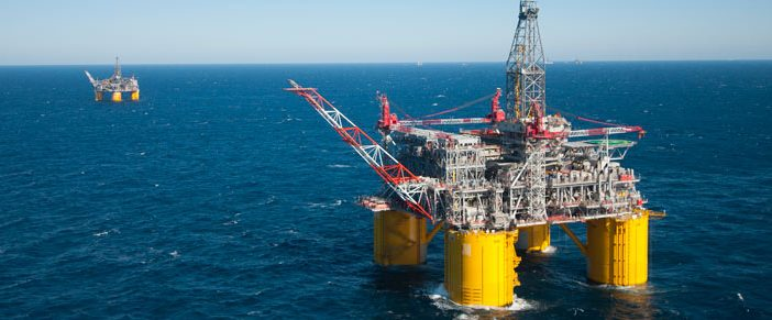 The Mars platform in the Gulf of Mexico. BOEM photo.