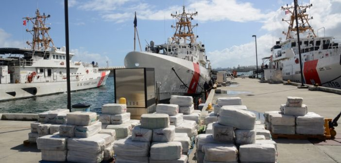 The Coast Guard offloaded 4.2 tons of seized cocaine, worth an estimated $125 million, at Coast Guard Sector San Juan. The crew of the Coast Guard cutter Joseph Napier seized the drugs and four Guyanese smugglers on fishing vessel, Lady Michelle, in international waters north of Paramaribo, Suriname Feb. 16.