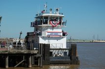 The ACBL towboat Jeff Kindl. Ken Hocke photo.