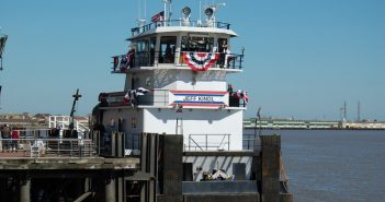 The ACBL towboat Jeff Kindl. Ken Hocke photo.