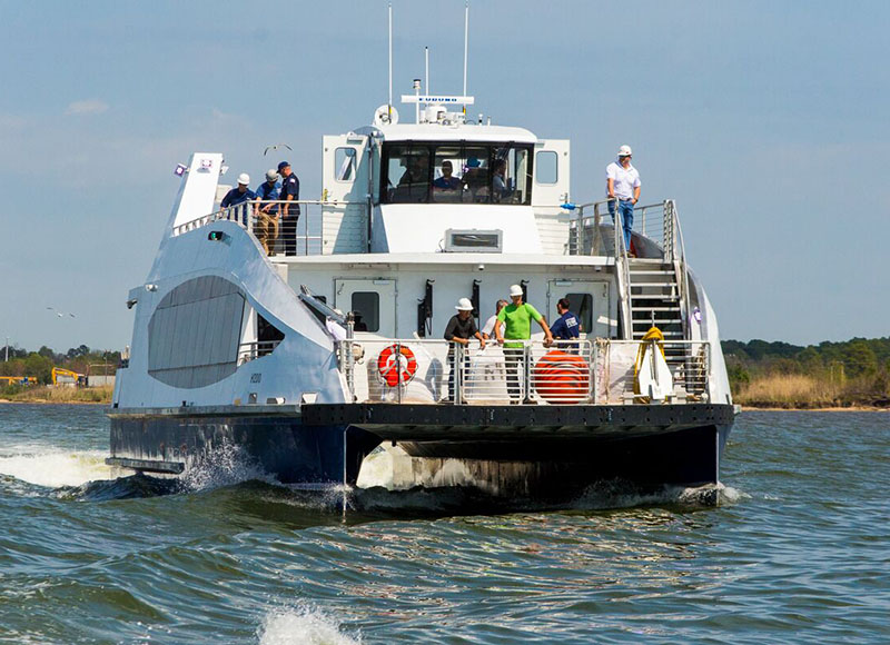 Horizon's Hull 200 will be New York-bound after completing sea trials. New York City Mayor's Office/New York City Economic Development Corporation photo.