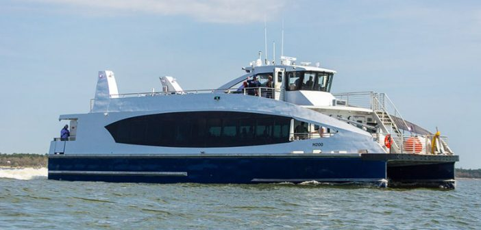 Photos: Sea trials for first Horizon-built Citywide ferry