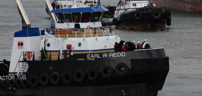 The Earl W Redd. Harley Marine photo.