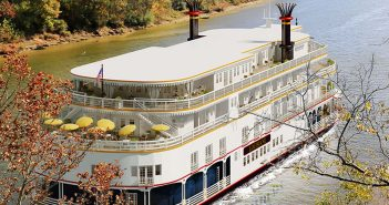 A rendering of the Louisiane courtesy French America Line.