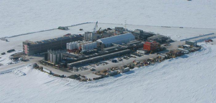 Eni's Spy Island camp in Alaska. Photo courtesy Builders Choice.
