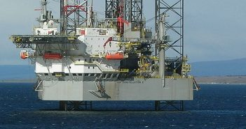 The Transocean jackup rig GSF Constellation II. Creative Commons photo by Remi Jouan.