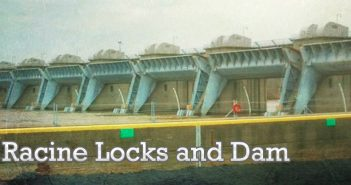Racine Locks and Dam. Undated USACE photo.