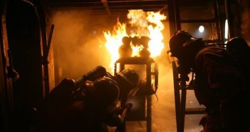 Most training institutes offer Basic Marine Firefighting courses. Fremont Maritime photo