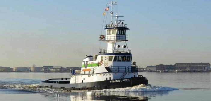 New 94'x34'x15' tug is the 13th Sassafras class tug to enter Vane Brothers' fleet. Vane Brothers photo