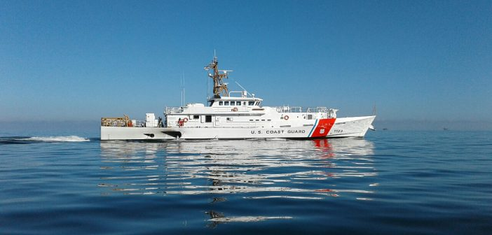 Newest FRC during builders trials in the U.S. Gulf of Mexico. Bollinger Shipyards photo