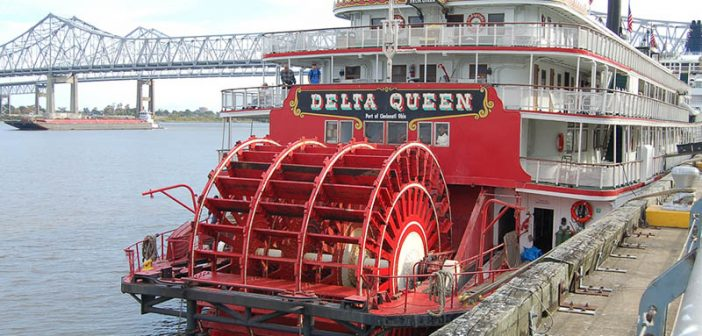 The Delta Queen in New Orleans in 2007. Creative Commons photo by Joe Ross.