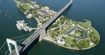 The SUNY Maritime campus in Throggs Neck, N.Y. SUNY Maritime photo.