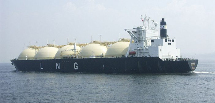 The LNG carrier Shahamah. Creative Commons photo.