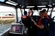 The U.S. Coast Guard has announced plans to step up Chicago-area patrols against illegal charter vessels. USCG photo.