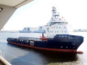 PSV delivered to GulfMark last summer. GulfMark photo