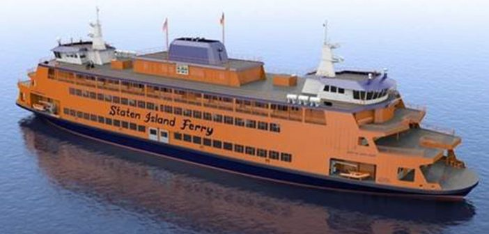 Three new Staten Island ferries will be built at Eastern Shipbuilding Group. Eastern Shipbuilding Group image