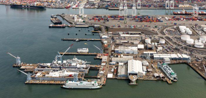 Vigor's Harbor Island facility in Seattle. Vigor photo