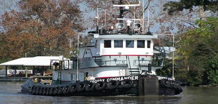 The Crosby Commander went down in the Gulf of Mexico Monday morning. Crosby photo.
