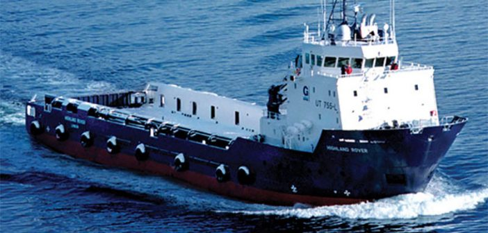 GulfMark Offshore will restructure under Chapter 11. Photo courtesy of GulfMark Offshore.