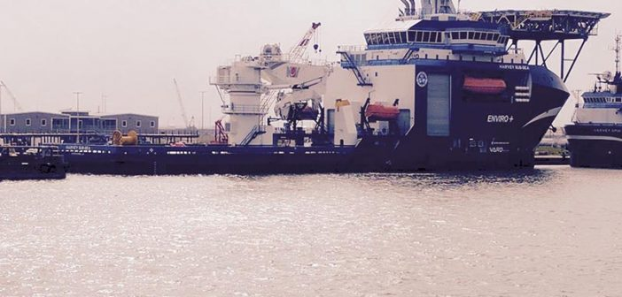 The Harvey Sub-Sea MPSV. Harvey Gulf International Marine photo.