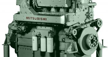 New EPA Tier 3 compliant diesel engine from Mitsubishi. Mitsubishi photo