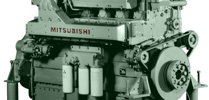 New EPA Tier 3 compliant diesel engine from Mitsubishi. Mitsubishi photo