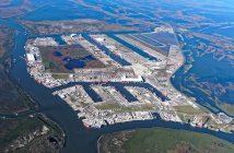Port Fourchon courtesy Greater Lafourche Port Commission.