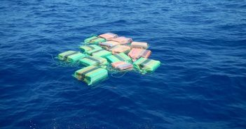 Contraband seized by the Coast Guard cutter Hamilton during a 2017 patrol. USCG photo.